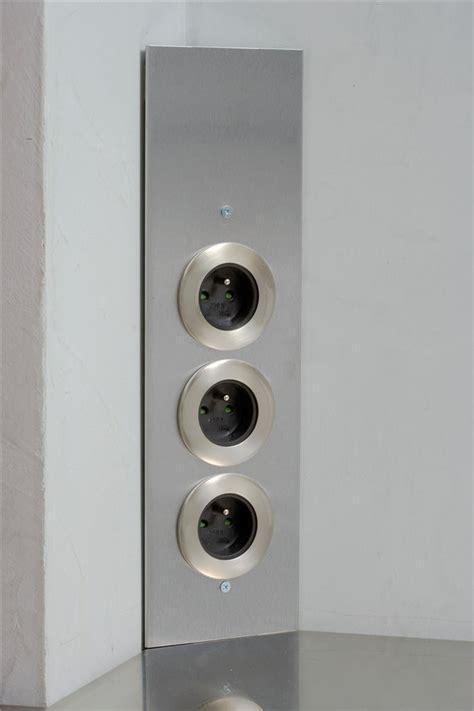 prise electrique angle cuisine prise de cuisine bloc esquina 2 prises électriques et