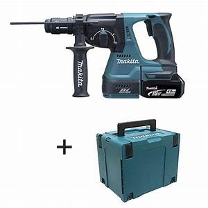 Perforateur Burineur Sans Fil : perforateur burineur makita sds plus 18v li ion lxt 4ah ~ Premium-room.com Idées de Décoration