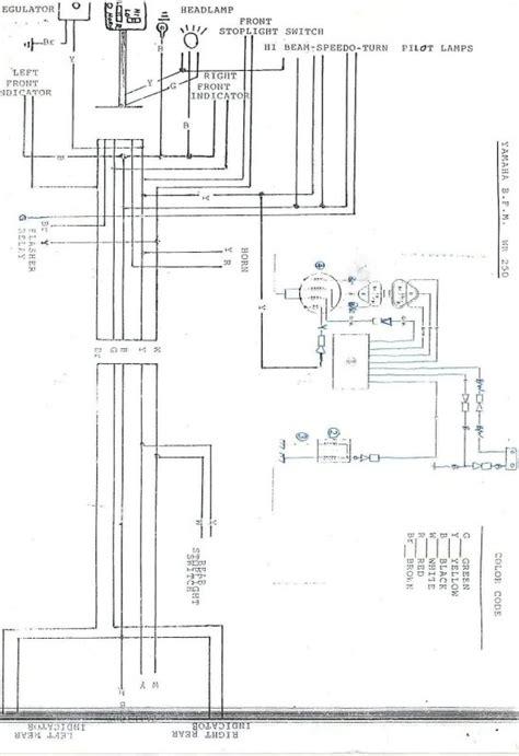 wr250yz 1998 bfm aussie spec list wiring diagram yamaha 2 stroke thumpertalk