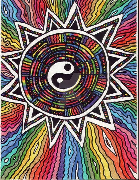 colorful yin yang colorful yin yang by creevesabudd on deviantart