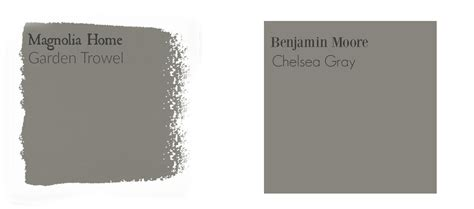 fixer paint colors magnolia home paint color matched to benjamin the weathered fox