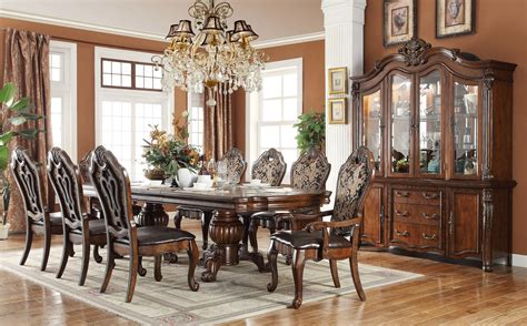 delano formal dining room collection  fabric