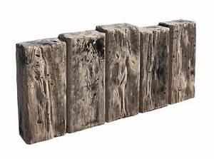 Palisaden Holz Rund : versteinertes holz palisade 3d garten garten garten ideen und palisaden ~ Frokenaadalensverden.com Haus und Dekorationen