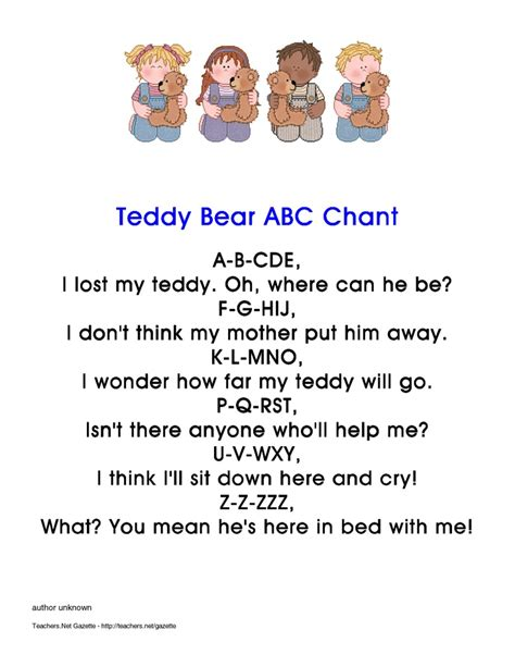 teddy bear songs preschool 92 best images about teddy theme on 466