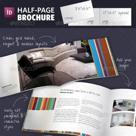 A5 Half Fold Brochure 4 Pages Brochure Templates Half Page Brochure Template Gt Gt How To Make A Half Page