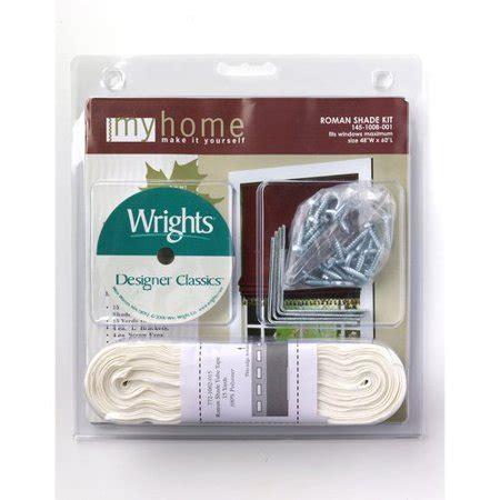 Wright S Medium Roman Shade Kit Walmartcom