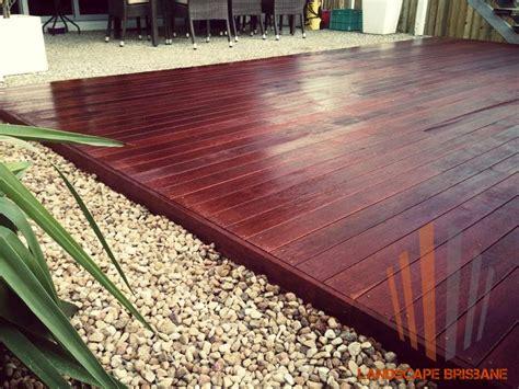 modern hardwood timber deck view   httpwww