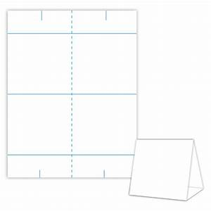 table tent design template blank table tent white With template for table tent cards