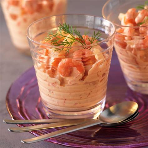 recette de cuisine avec des crevettes recette verrines de crevettes