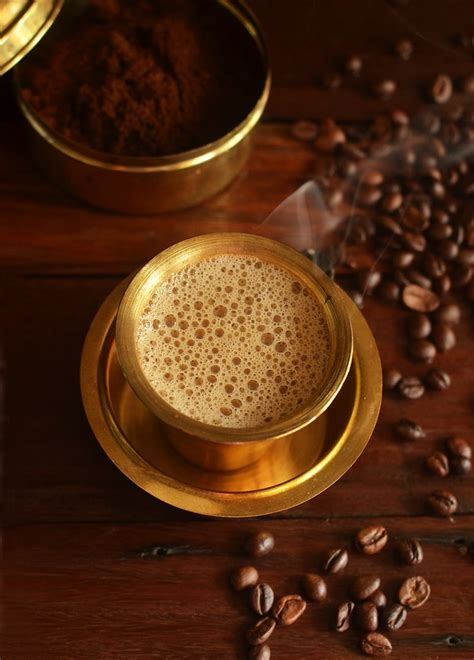 history  south indian filter coffee