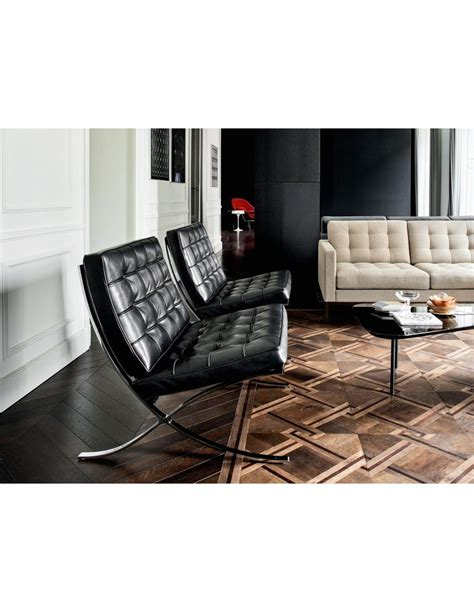 Poltrona Barcelona Knoll by Knoll Barcelona Chair Origineel Design Der Donk
