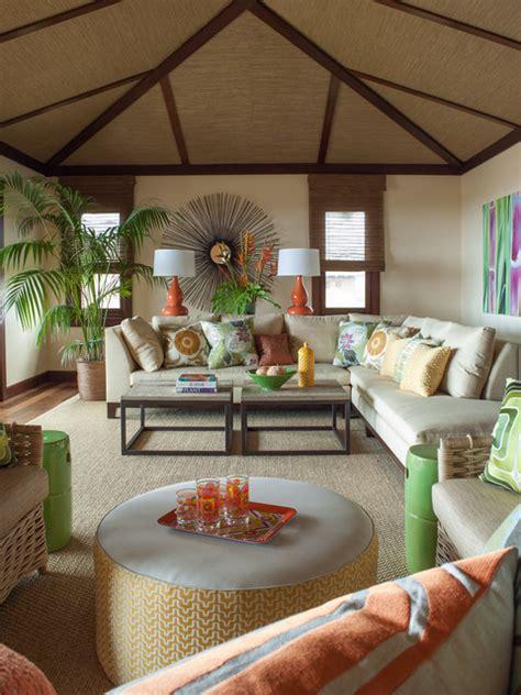 vacation villa hawaii tropical living room hawaii