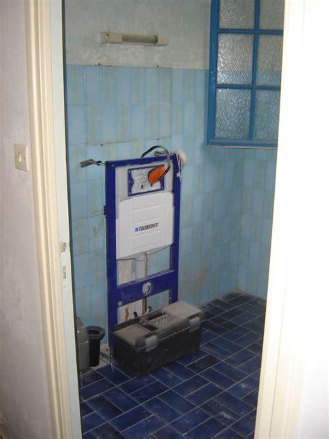 comment installer un toilette suspendu installation wc suspendu