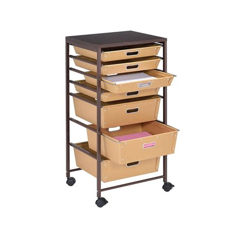 Wickelkommode Mit Rollen by Paper Drawer Rolling Cart By Recollections
