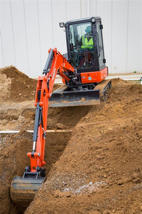 kubota tractor corp kubota kx  compact excavator  mini excavators