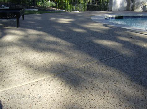 aggregate effects orange county concrete coating