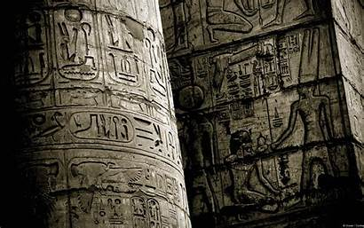 Ancient Egypt History Temple Wall Sculpture Drawing