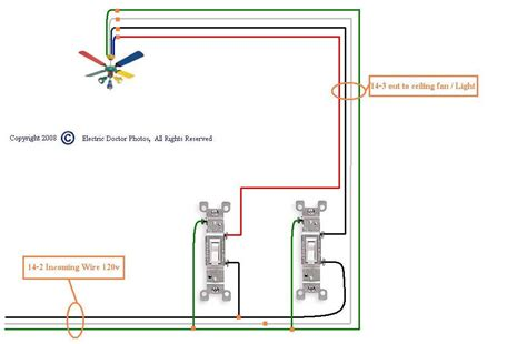 Ceiling Fan Light Dimmer Switch Wiring Home Design Ideas