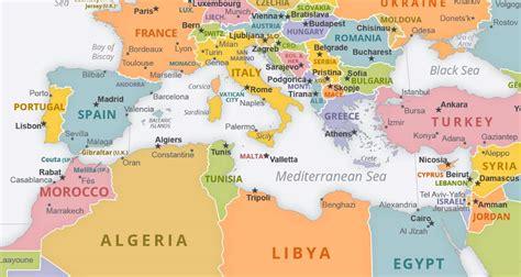 map  mediterranean sea bible times red sea surrounding