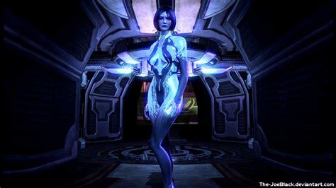 Halo 4 Cortana Wallpaper By Joeshouseofart On Deviantart