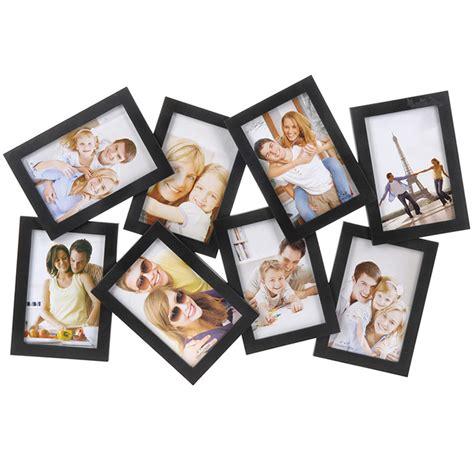 cadre photos pele mele avec 8 emplacements photos