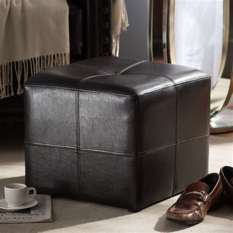 nox dark brown ottoman wholesale interiors
