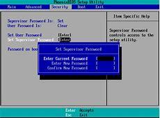 How to Set BIOS or UEFI Password on Windows 10 WindowsAble