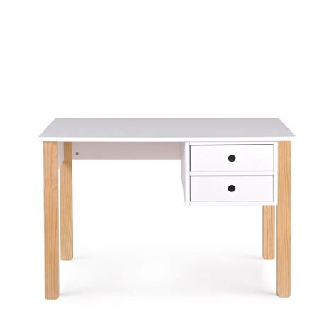 bureau enfant pin massif bureau enfant pin massif blanc tipi by drawer