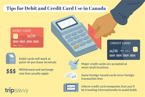 The credit card points encourage the users to use their credit cards for various transactions like shopping, utility bill payments, travel and dining. Tips for Using Debit Cards and Credit Cards in Canada