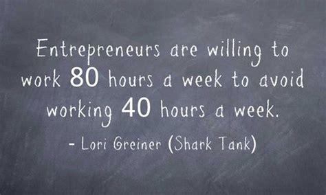 entrepreneur work long