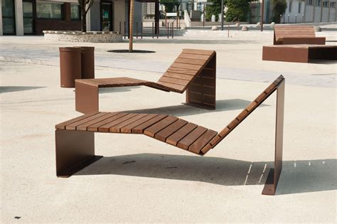 absolut bain de soleil duo exterior benches from cyria architonic