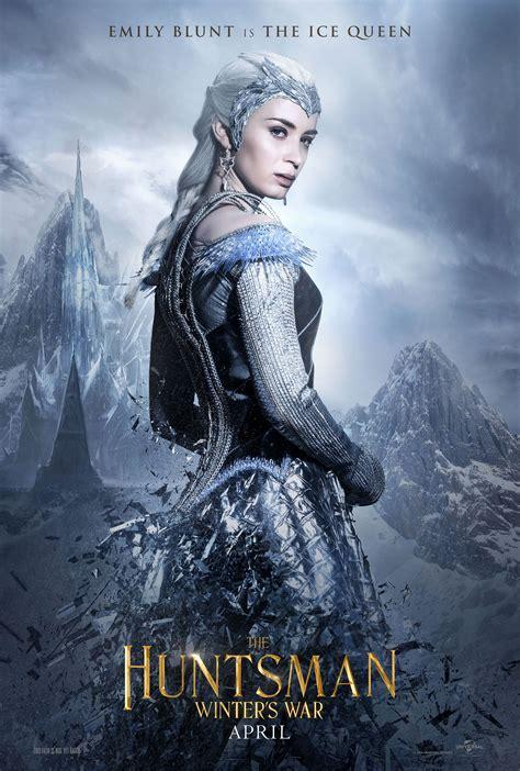the huntsman winter s war emily blunt is the ice queen