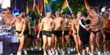 Gay gras mardi parade