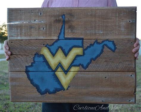 West Virginia University-pallet Board-pallet Wall Art
