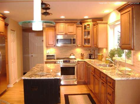 small  shaped kitchen  island google search