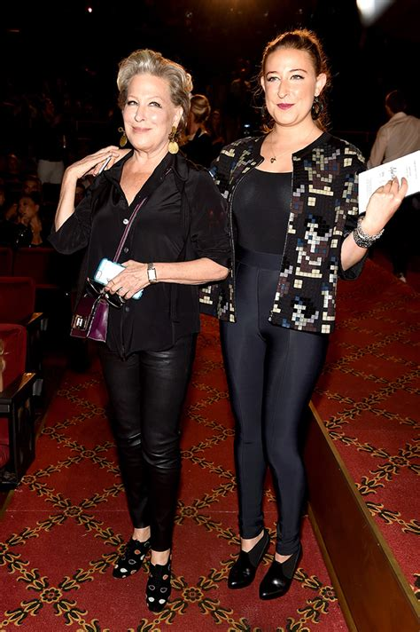 bette midler attends marc jacobss spring  nyfw show instylecom