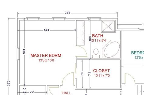 master bedroom floor plans ensuite images