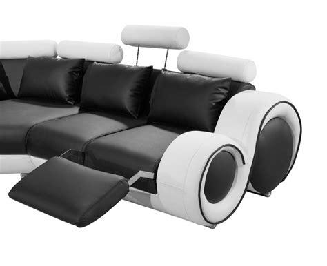 Divani Casa 4087 Modern Leather Sectional Sofa Baci
