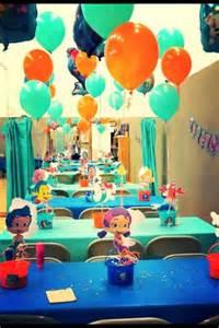 Bubble Guppies Party Decoration Ideas
