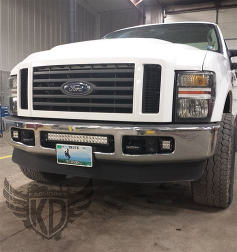 bumper brackets for 20 quot led light bars 08 10 ford