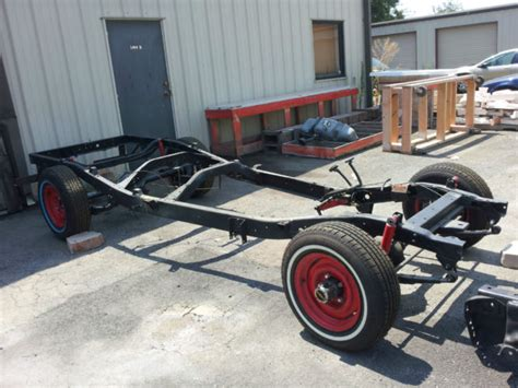 willys truck rolling chassis classic willys pickup