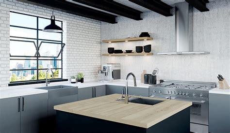 modern industrial design pfister faucets kitchen bath