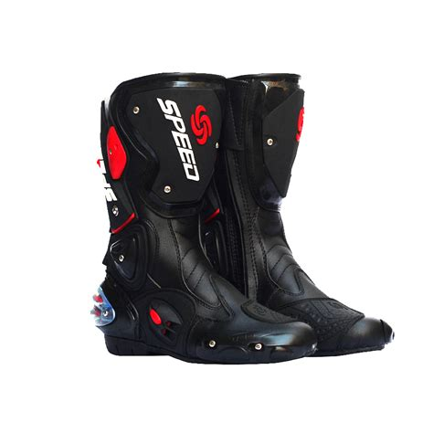 motorcycle bike shoe men motorcycle boots motocross racing speed motorbike