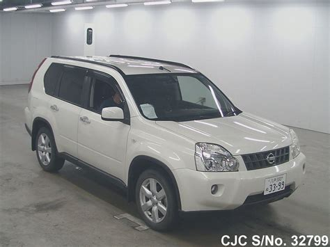 nissan 2008 white 2008 nissan x trail white for sale stock no 32799