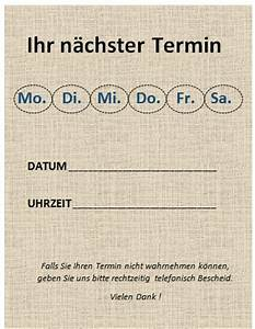 Termin Berechnen : word terminzettel vorlagen office ~ Themetempest.com Abrechnung