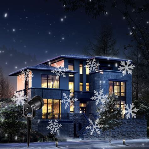 Outside Projector Lights by Outdoor Snowflake Lights Promotion Shop For
