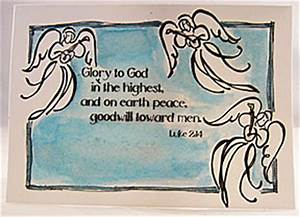 Homemade Religious Christmas Cards – Happy Holidays