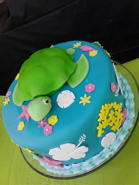 turtle cake decoration ideas  birthday cakes