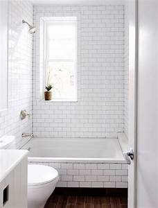 29 white subway tile tub surround ideas and pictures for Subway tile bathroom