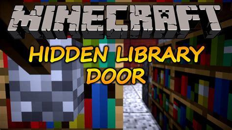 Minecraft Secret Bookcase Door by Minecraft How To Make A Bookshelf Door 1 11 2